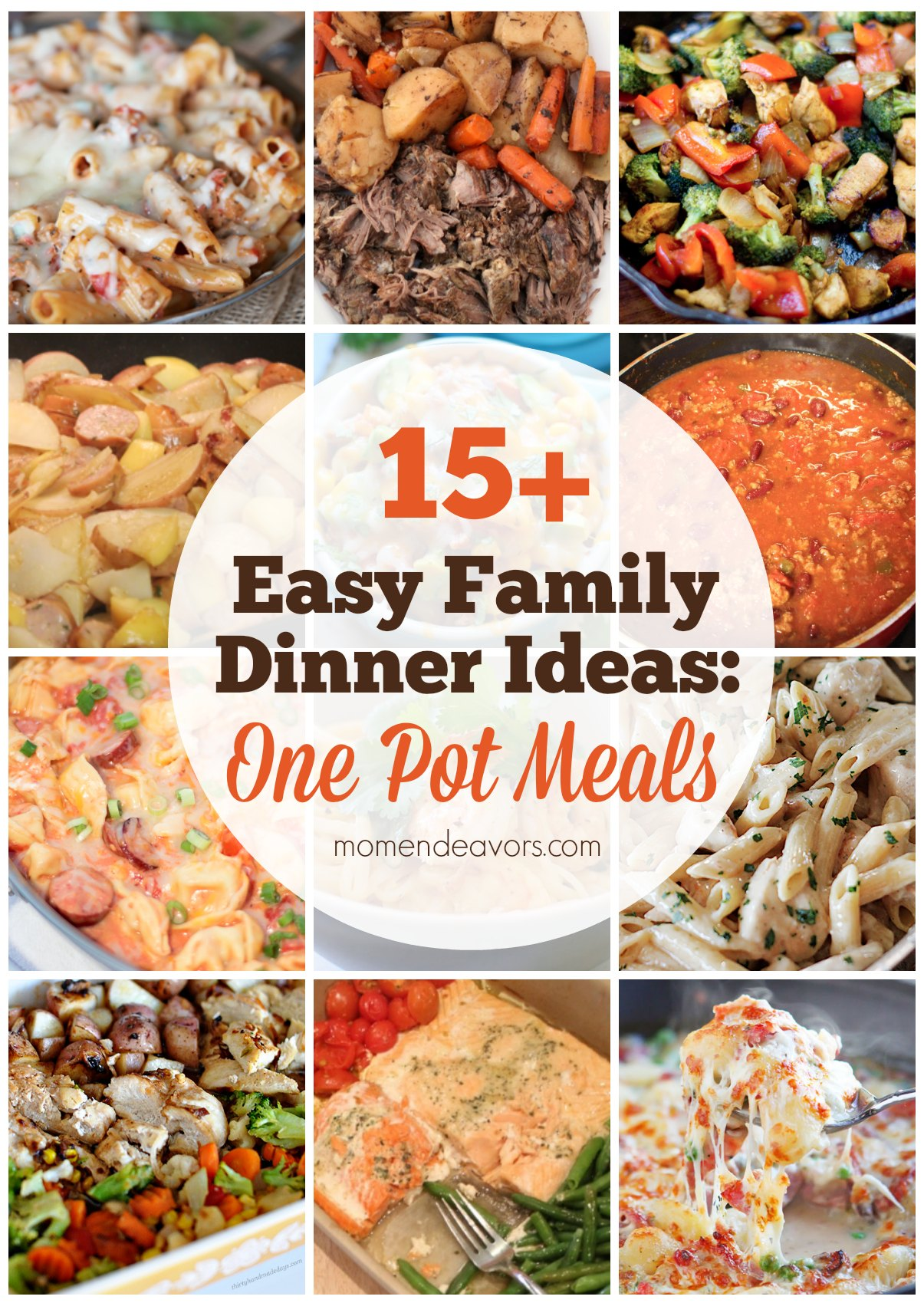 4 easy family dinners to serve your family this week!