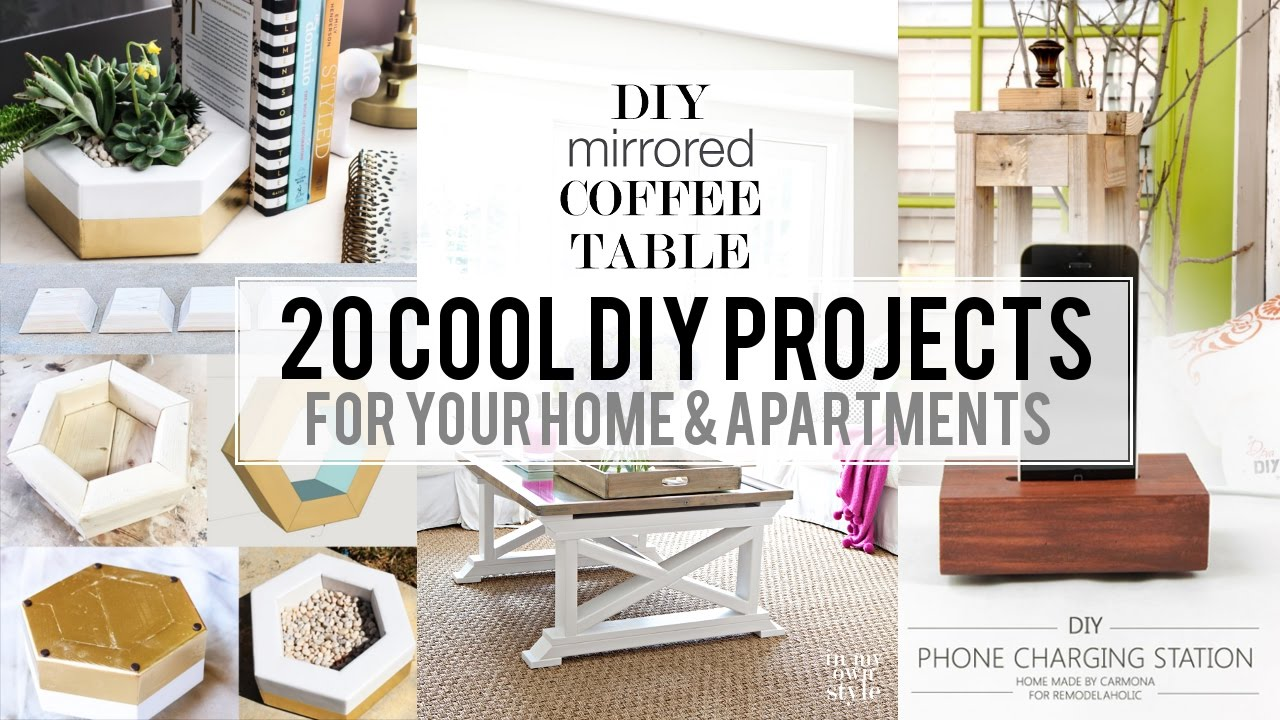 Home DIY Projects To Inspire Your Next Creative Project