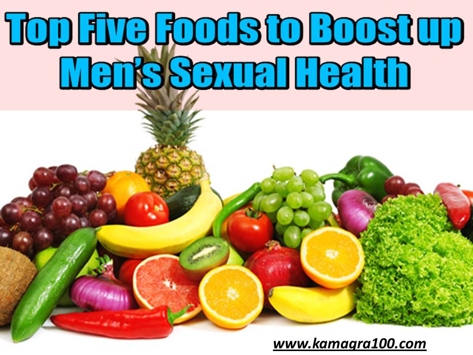 Food for mens sexual health