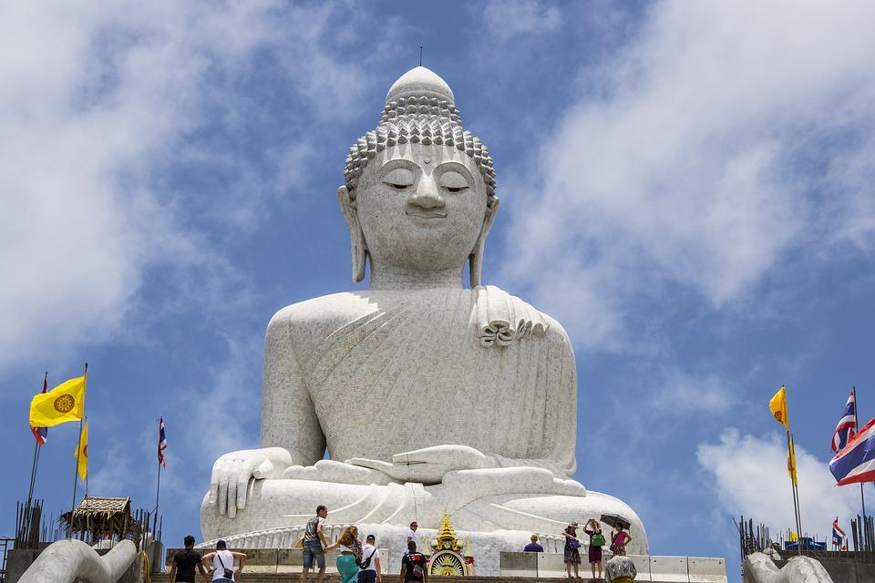 Buddah, Phuket, Thailand