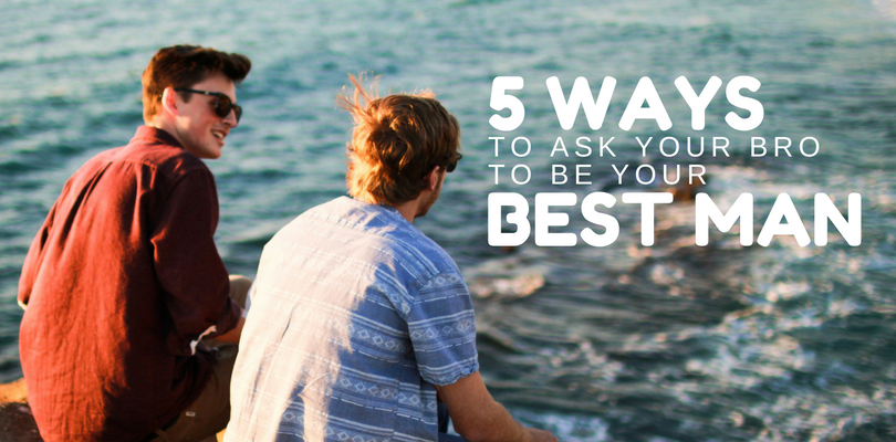 5 Ways To Be The Best Best Man