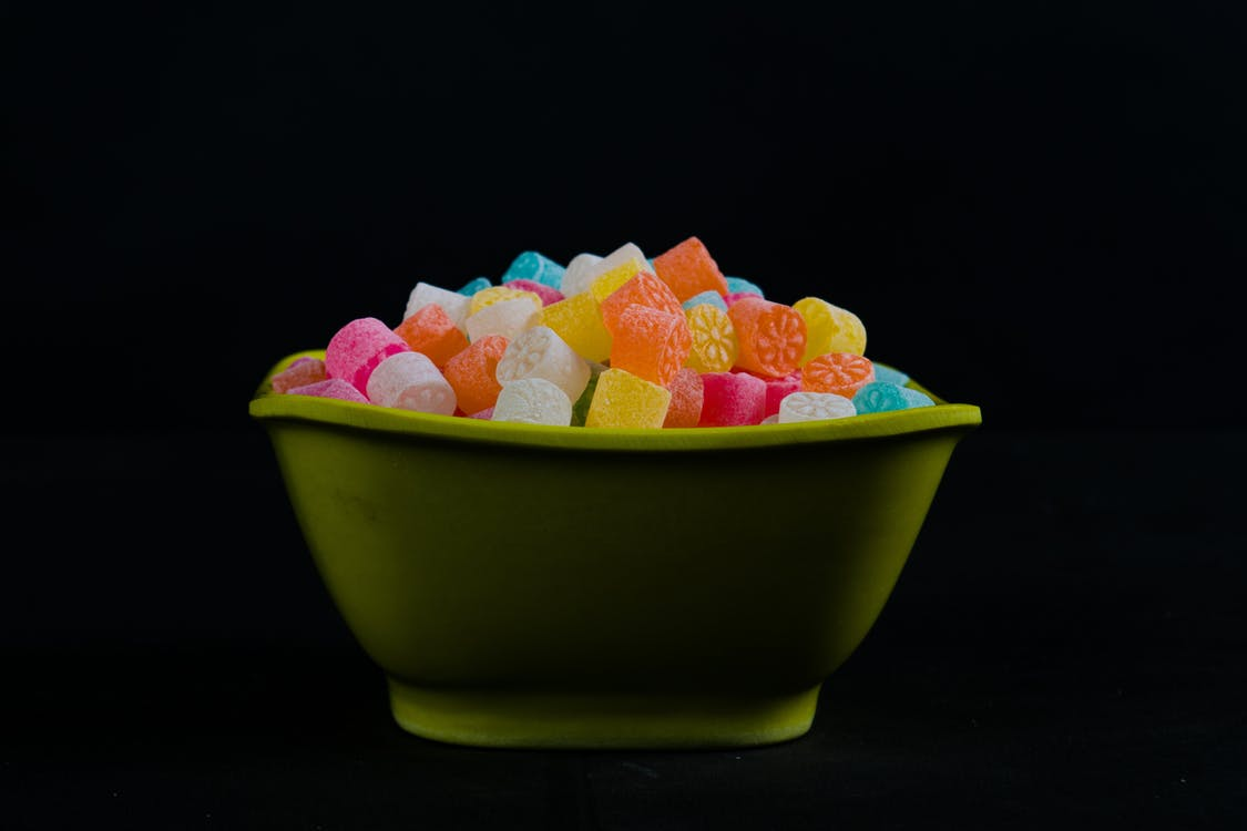 Bowl of Gummies